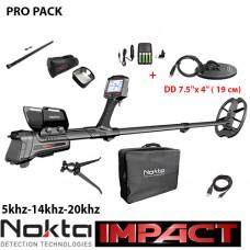 Металотърсач Nokta Impact PRO Package 5Khz-14Khz-20Khz и подаръци