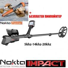 Металотърсач Nokta Impact 5Khz-14Khz-20Khz
