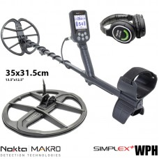 Металотърсач Nokta Makro Simplex+ WHP с 35cm. сонда