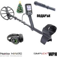 Nokta Makro Simplex+ WHP с безжични слушалки