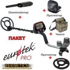 Металотърсач Teknetics Eurotek PRO ПАКЕТ и много подаръци