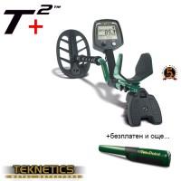 Металотърсач Teknetics T2+/плюс/ със софтуер DST и подаръци