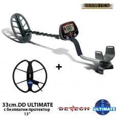 Металотърсач Teknetics Eurotek PRO 11DD Mega ULTIMATE с 2 сонди и подаръци