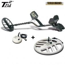 Металотърсач Teknetics T2 Ltd MEGA 38 с най-нов софтуер DST и с 3 търсещи сонди и подаръци