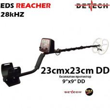 Металотърсач Detech EDS Reacher - 28kHhz и подаръци