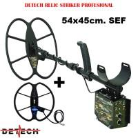 Металдетектор Detech EDS RELIC STRIKER 4.8 Khz 54x45cm. SEF и 33cm. Ultimate
