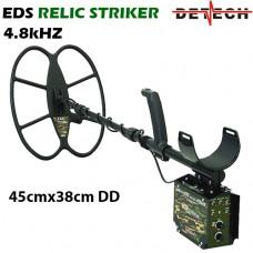 Металотърсач Detech EDS RELIC STRIKER 4.8 Khz и подаръци