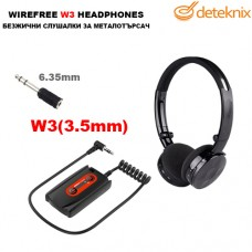 Безжични слушалки за металотърсачи W3 Lite на Deteknix
