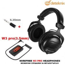 Безжични слушалки за металотърсачи W3 PRO на Deteknix