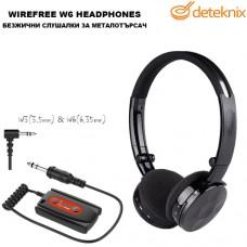 Безжични слушалки за металотърсачи W6 Lite на Deteknix
