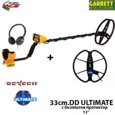 Металотърсач Garrett EURO ACE Mega ULTIMATE с 2 сонди и подаръци