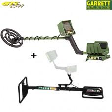 Дълбочинен металотърсач Garrett GARRETT GTI 2500 EagleEye Depth Multiplier с 2 сонди и подаръци