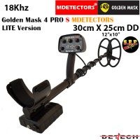 Металотърсач Golden Mask 4 PRO S-LITE MDETECTORS - 18Khz с 30х25cm. SEF DD
