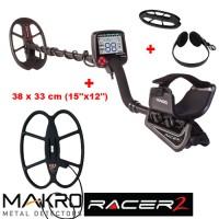 Металдетектор Makro Racer 2 MEGA+ с 2 сонди и подаръци