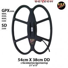 """Търсеща сонда SEF 54x38см./18x15""""/ DD за GPX 5000/4800/4500/3500 SD"""