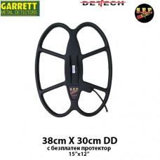 """Търсеща сонда SEF 38x30см./15x12""""/ DD за Garrett Ace 150/200i/250/300i/350/Euro"""