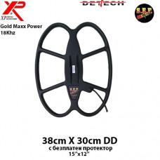 """Търсеща сонда SEF 38x30см./15x12""""/ DD за XP Gold Maxx Power 18Khz"""