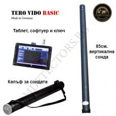 Дълбочинен скенер Tero Vido 3D-магнарадар - Basic окомплектовка и подарък металотърсач