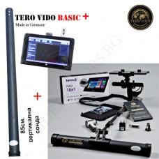 Дълбочинен скенер Tero Vido 3D-магнарадар - Basic ПЛЮС окомплектовка  и подарък металотърсач