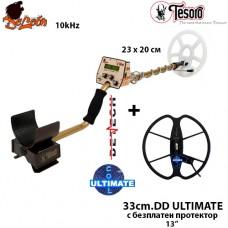 Металотърсач Tesoro Deleon - 10kHhz Mega ULTIMATE с 2 сонди и подаръци