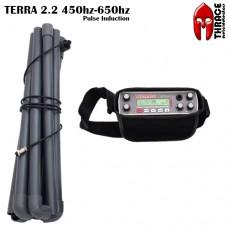 Дълбочинен металотърсач пулс-индукционен Thrace Terra 2.2 и подаръци