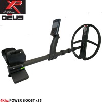 Металотърсач XP DEUS със сонда 34cm.x28cm. MDETECTORS на 4Khz Power Boost