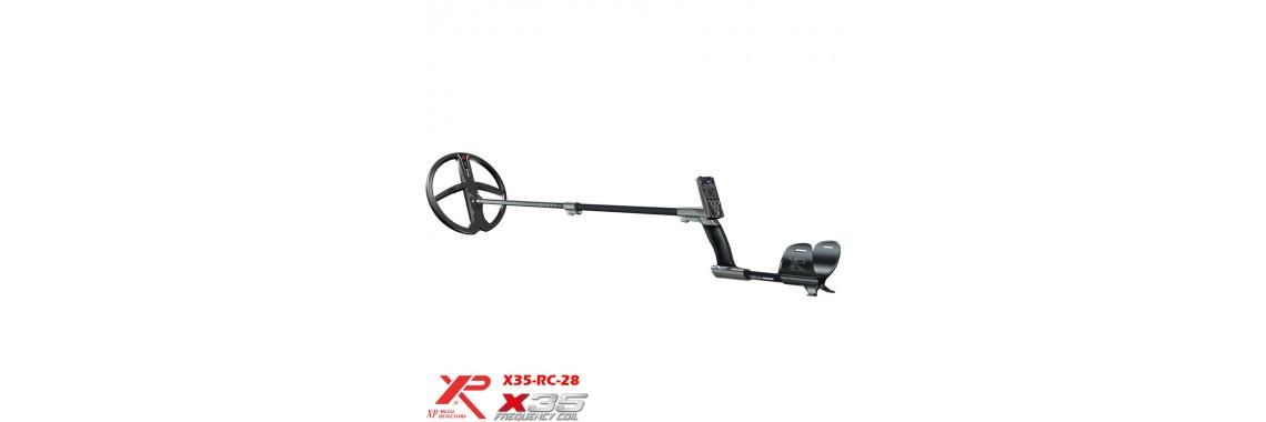 XP DEUS v.5 - X35-RC-28cm.