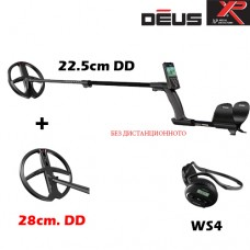 Металотърсач XP DEUS v.5 - Mega WS4-22см.-28см. 2 сонди x35 и подаръци