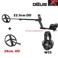 Металотърсач XP DEUS v.4 - Mega WS5-22см.-28см. 2 сонди и подаръци
