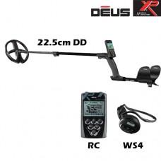 Металотърсач XP DEUS v.4 - RC-WS4-22см. и подаръци