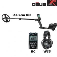 Металотърсач XP DEUS v.4 - RC-WS5-22см. и подаръци