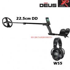 Металотърсач XP DEUS v.4 - WS5-22см. и подаръци