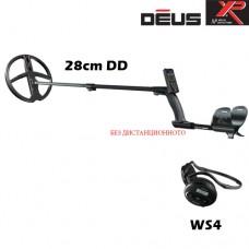 Металотърсач XP DEUS v.5 - WS4-28см. тип x35 и подаръци