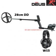 Металотърсач XP DEUS v.4 - WS5-28см. и подаръци